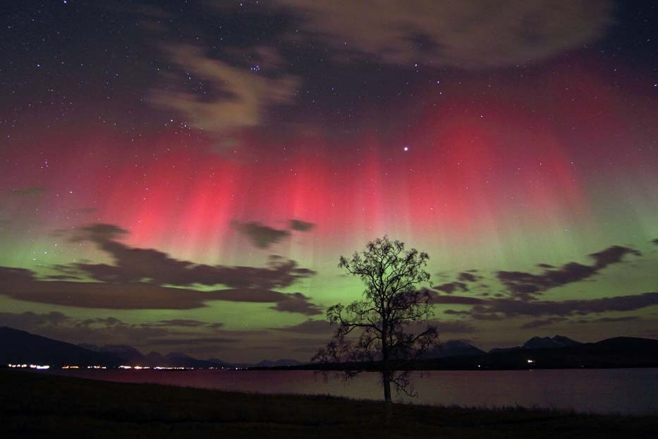 A Glowing Sky