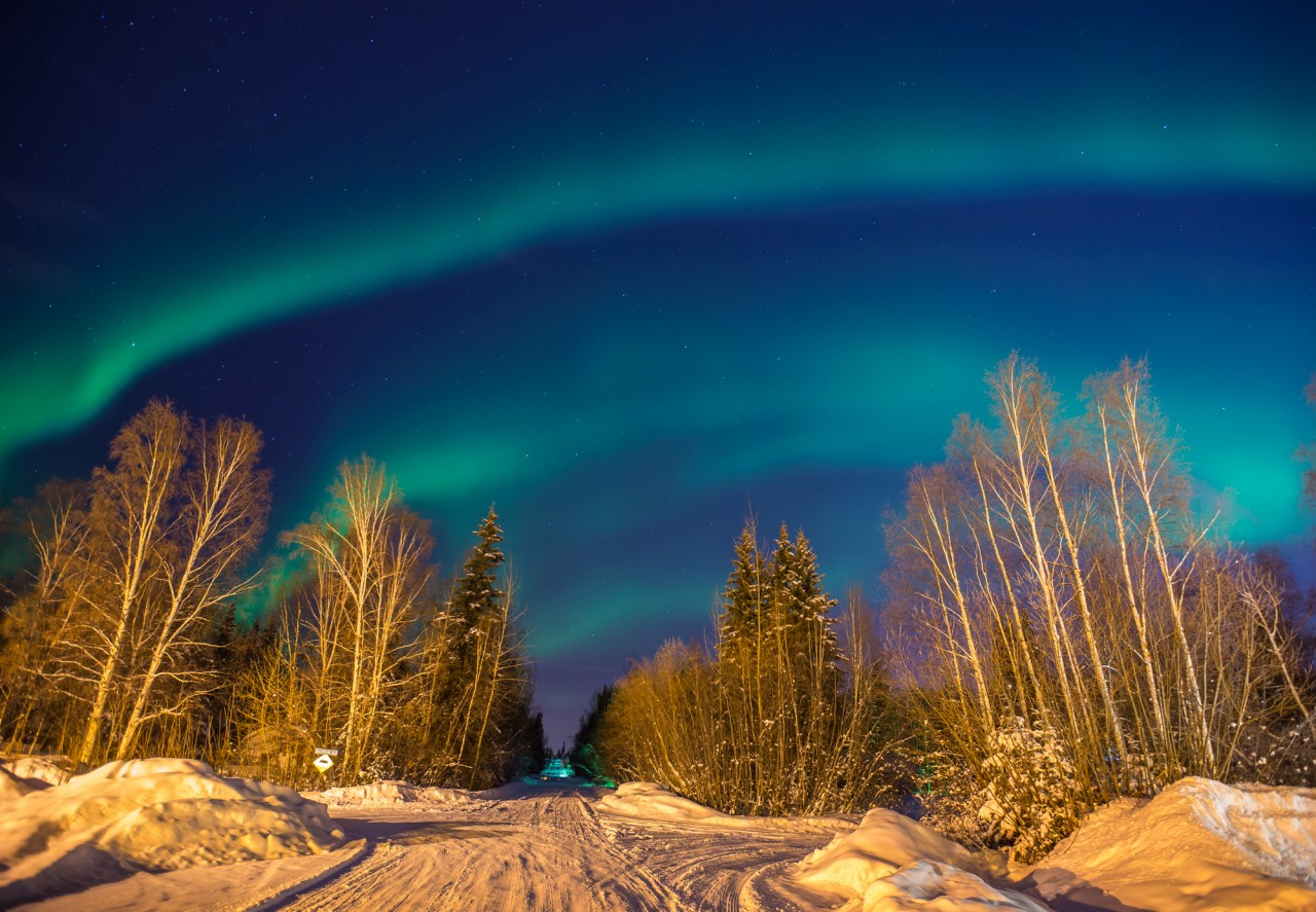packing to see northern lights