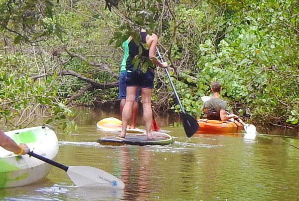 Small group travel-paddling in Costa Rica