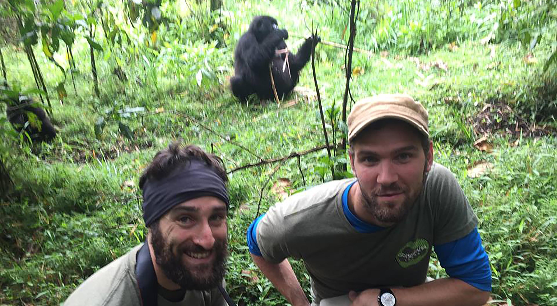 Gorilla Trekkers in Rwanda