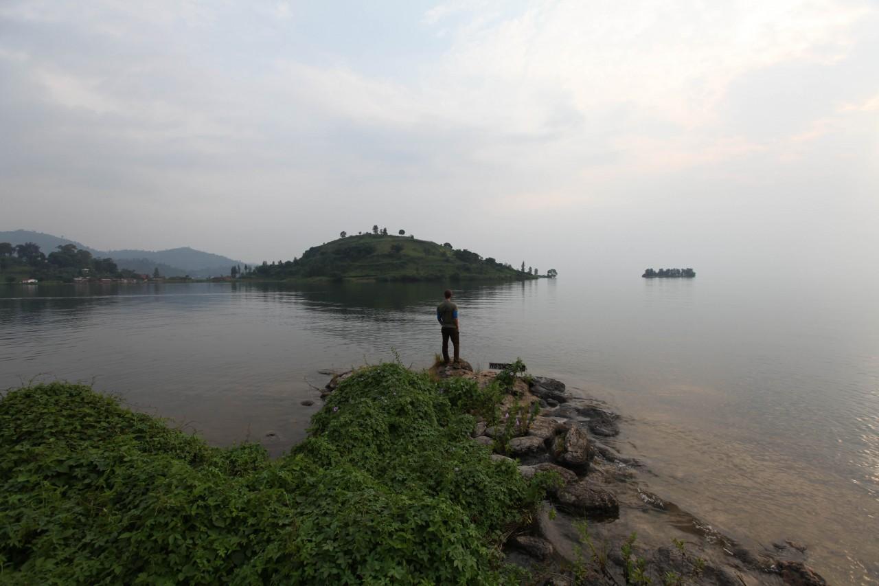 At Lake Kivu
