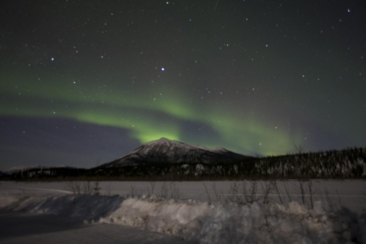 photographing the aurora