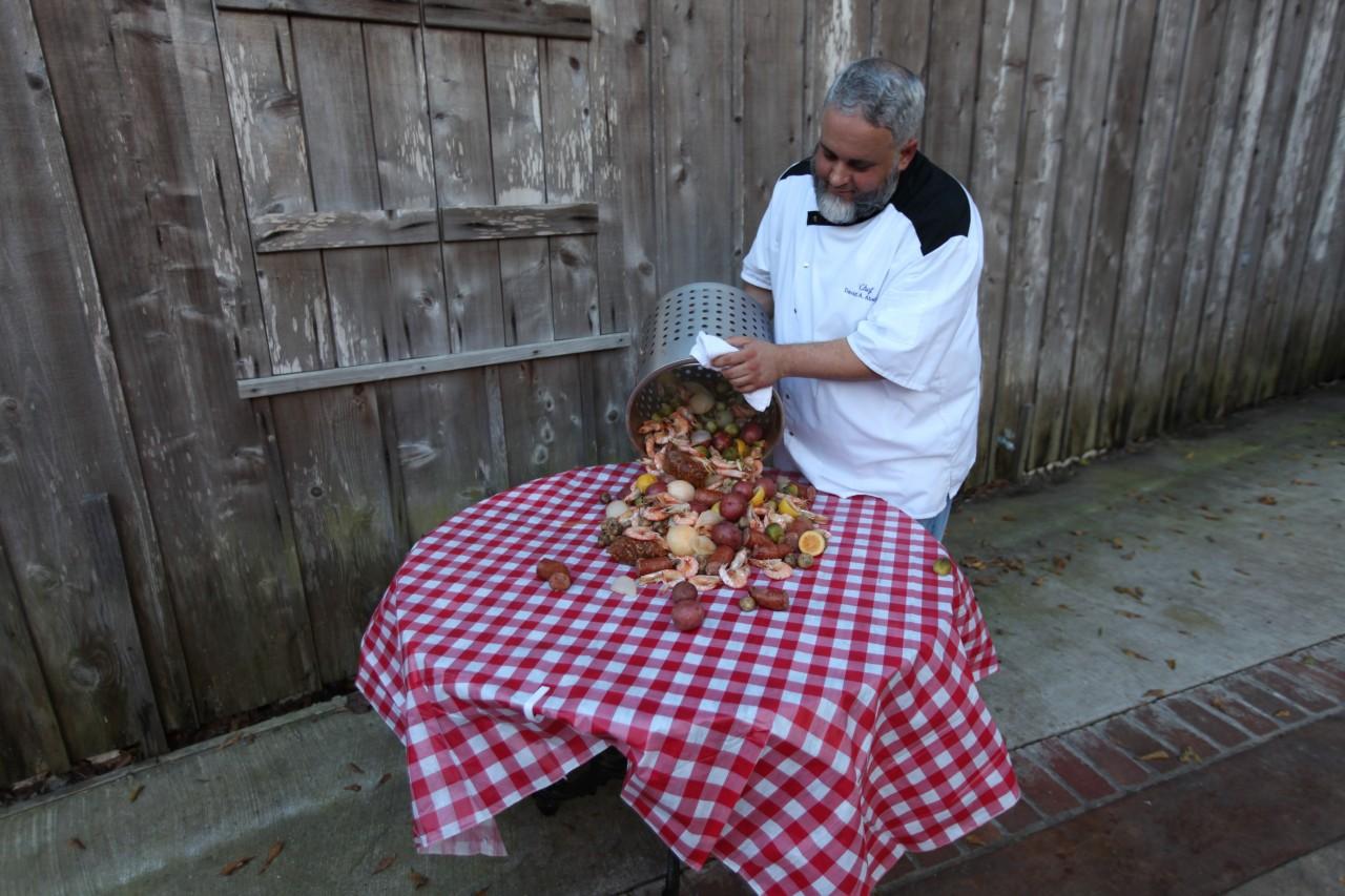 Cajun Cooking Shrimp Crawfish Boil Louisiana Ecotour