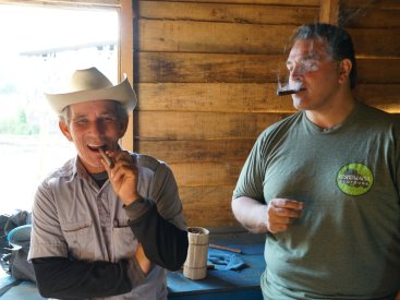 You can even try a hand-rolled cigar straight from the farmer. They make great souvenirs!
