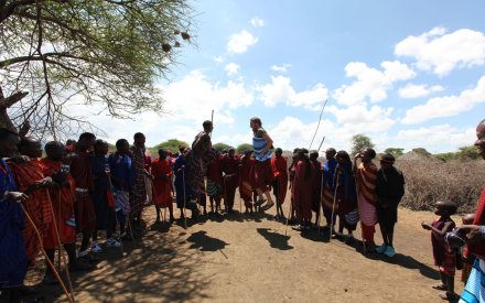 Cultural exchange with the Maasai People