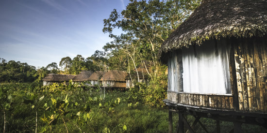 Enjoy The Kapawi Ecolodge's natural and remote environment